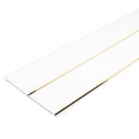 Панель ПВХ 2 - секции золото