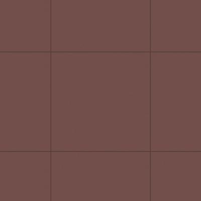 Керамогранит Unitile Моноколор коричневый 400х400х8 мм