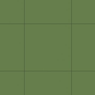 Керамогранит Unitile Моноколор зеленый 400х400х8 мм
